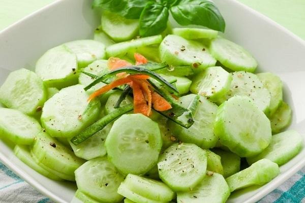 alimentos hidratantes pepino