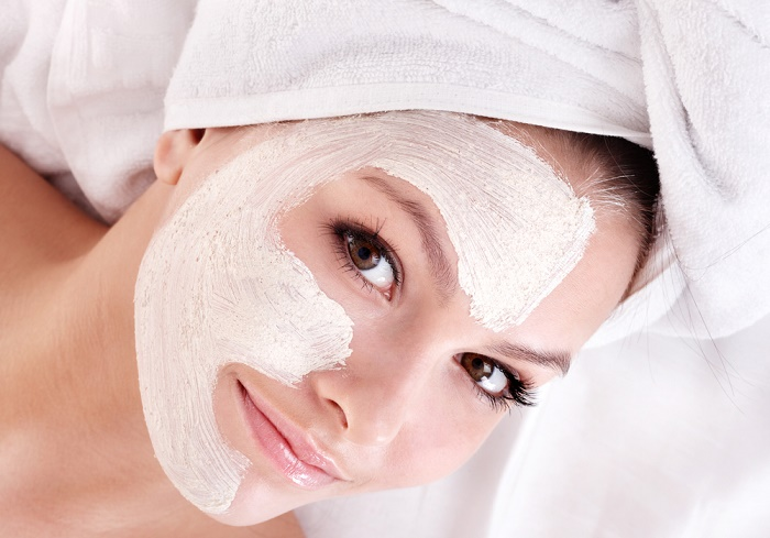 limpieza completa de rostro mascarilla