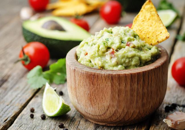 Ingredientes del guacamole para preparar en casa