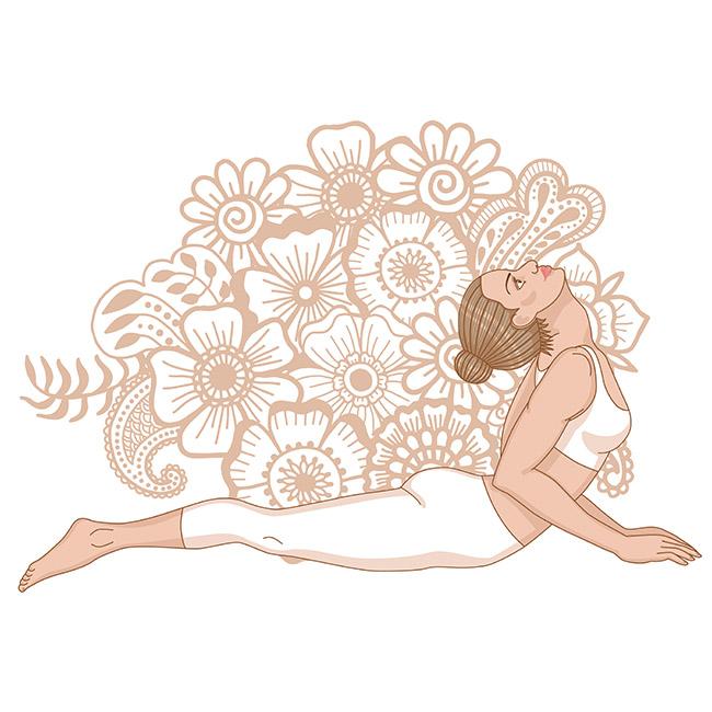 Una postura de yoga que tonifica el busto