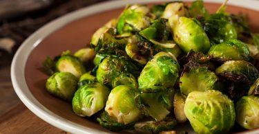 Receta de coles de brucelas para la dieta anticáncer