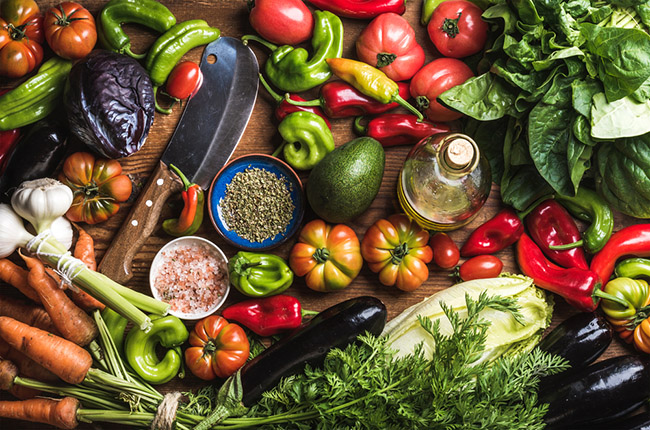 Verduras para sumar a tu dieta vegetariana