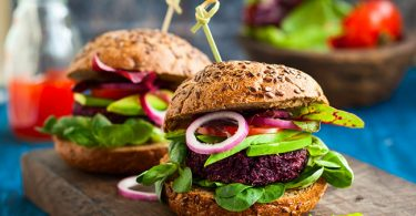 Una hamburguesa vegetariana para incorporar a tu dieta