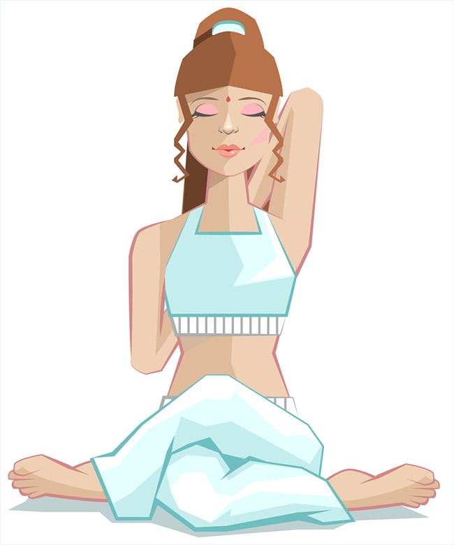 Una postura de yoga que tonifica los bustos