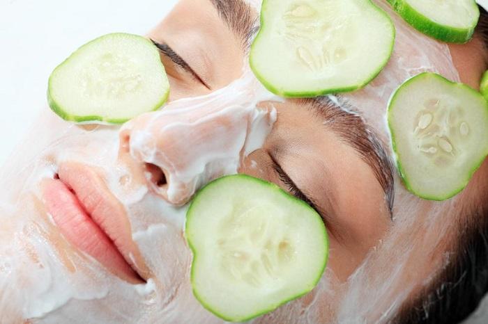 blanquear manchas en la cara con pepinos
