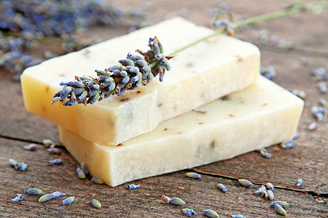 Jabón de glicerina para la piel sensible