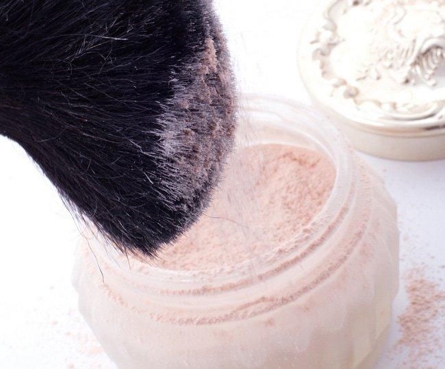 polvo traslúcido natural