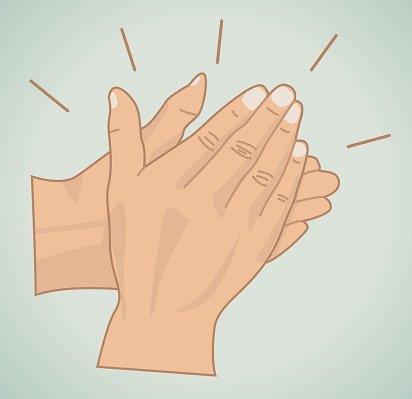 protegerse de la energía negativa aplaudiendo
