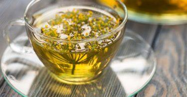Una taza de té de eneldo para podere adelgazar