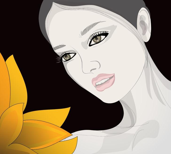 alma vieja mujer ilustración