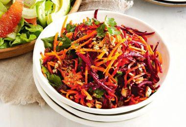 Prepara una ensalada detox para limpiar el colon