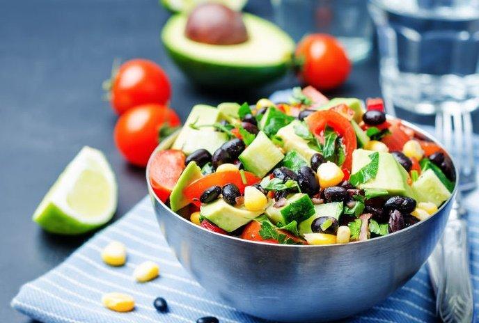 ensaladas para la pérdida de grasa