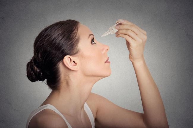 gotas para infecciones en los ojos