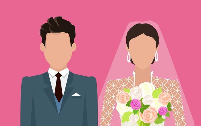 matrimonio ilustración