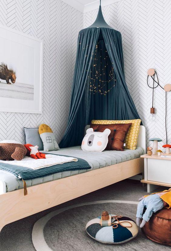 Una habitación para niños muy encantadora