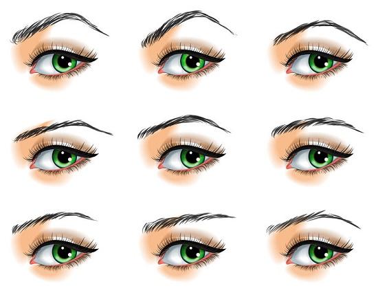 trucos fáciles delinear cejas