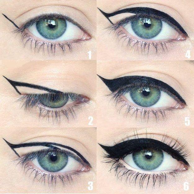 trucos fáciles para delinear el ojo