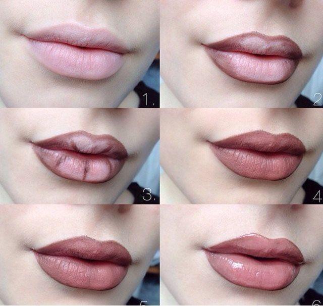 trucos fáciles para labios carnosos
