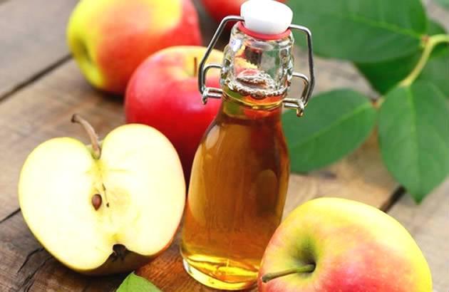 Vinagre de sidra de manzana para aliviar la comezón