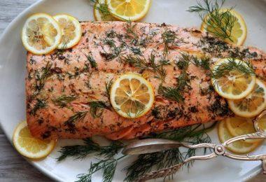 Receta de salmón a la plancha para evitar la depresión