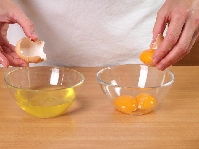 Clara de huevo para evitar la flacidez de la piel