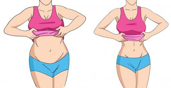 peso corporal y cantidad de calorías