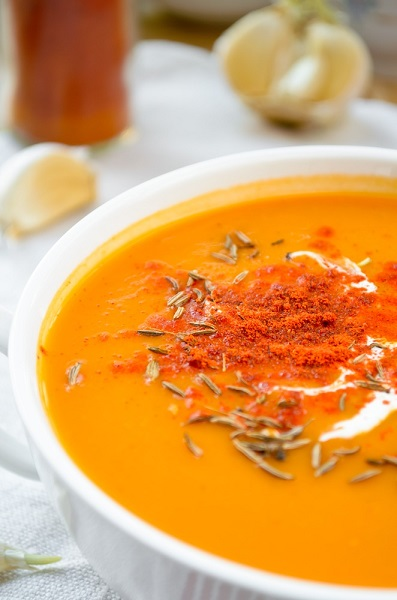 sopa de batata dulce para dieta adelgazante