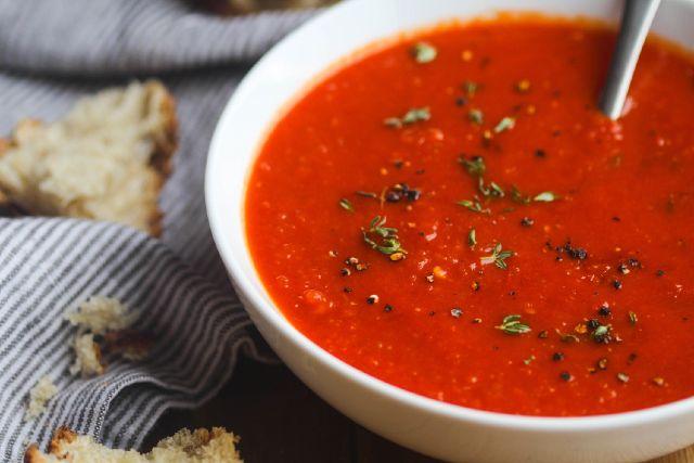 sopa de tomate para la dieta adelgazante