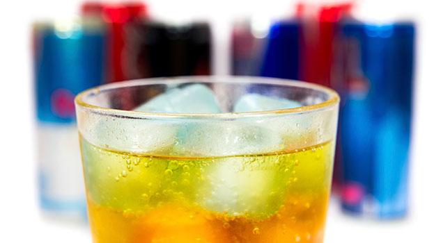 Bebida energética con carbohidratos