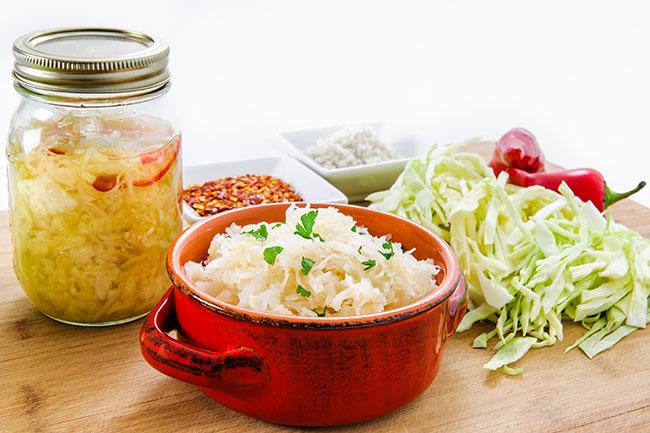 alimentos fermentados para el segundo cerebro