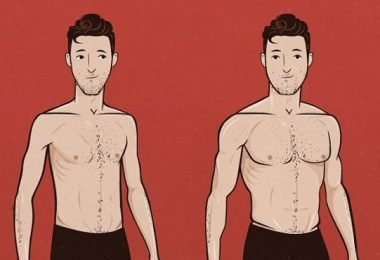 masa muscular en el hombre