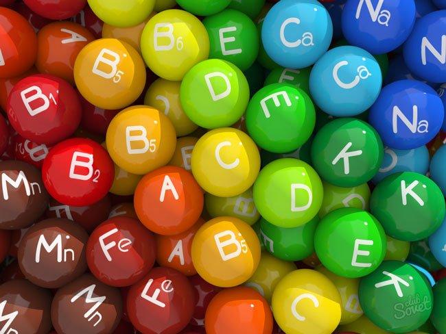 conjunto de vitaminas y suplementos