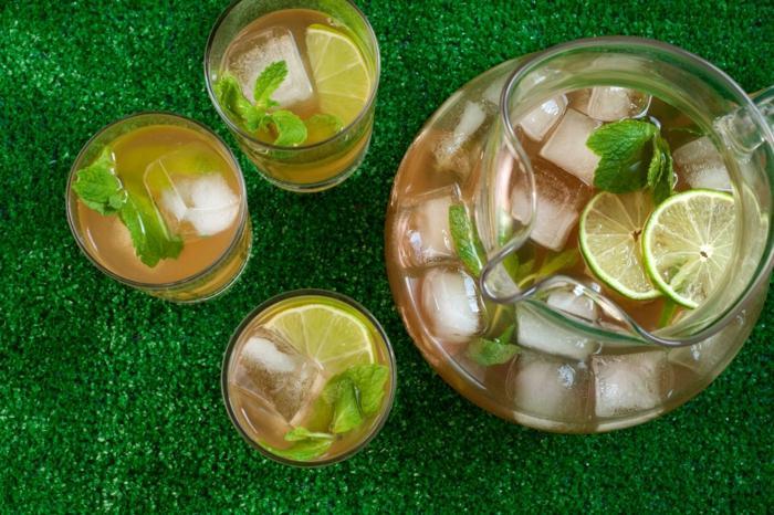 Limonada de te verde