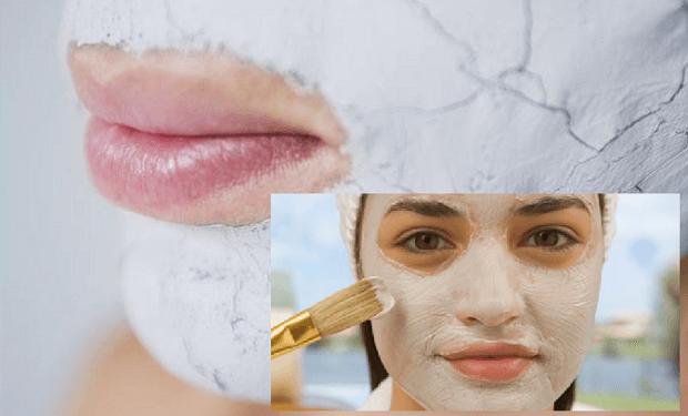 mascarilla para la cara con bicarbonato