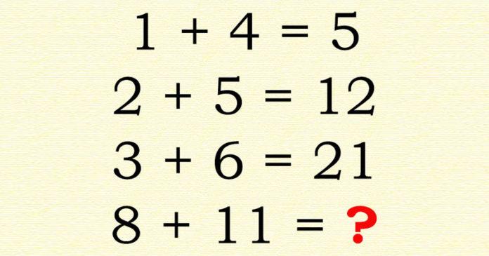 rompecabezas matemático