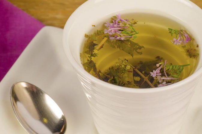 té de raíz de valeriana