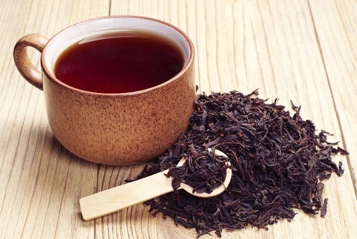té negro contra el riesgo de cáncer