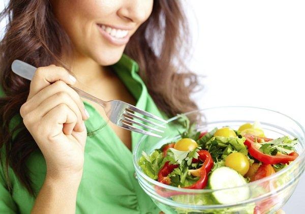 comer bien para aliviar la energía estancada