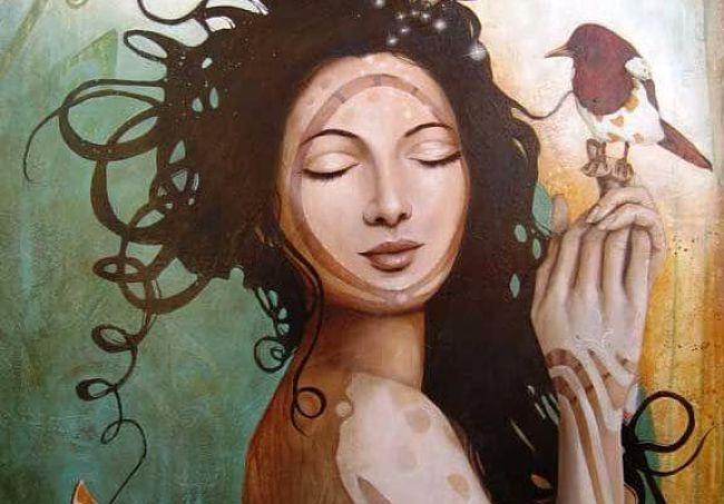 Mujer que llega a comprenderse a si misma se libera