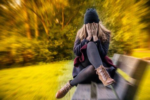 persona que sufre ansiedad