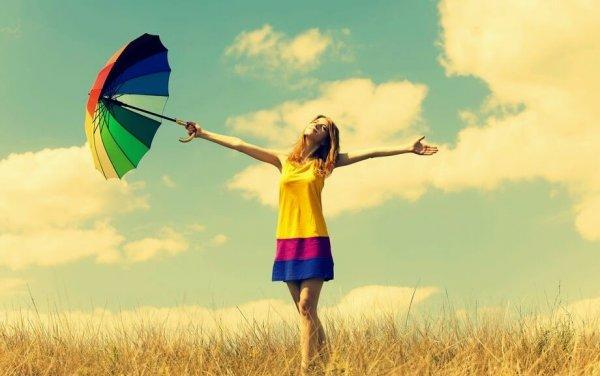 Mujer que se atreve a ser feliz