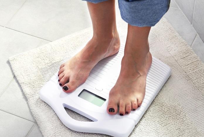 perdiendo peso