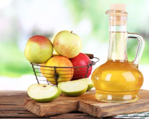 Vinagre de manzana para las infecciones por hongos