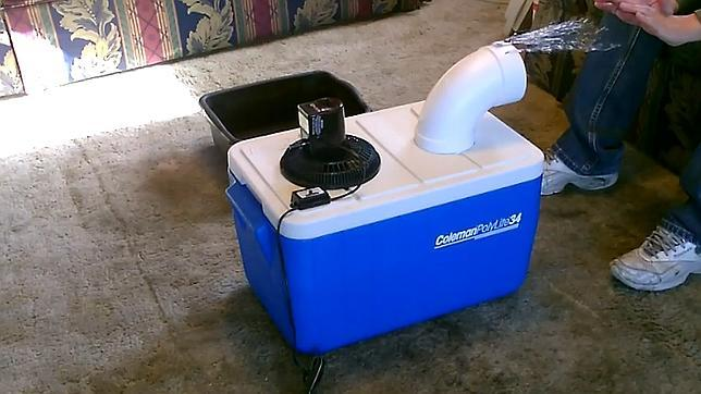 aire acondicionado hecho en casa