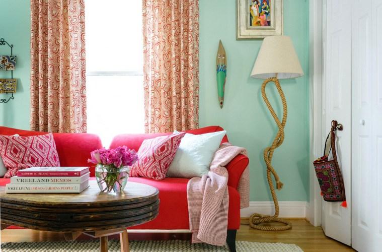 buena energía en los espacios a través de colores suaves del feng shui