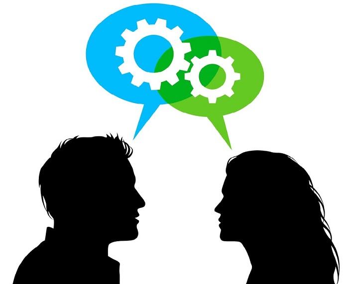 causar buena impresión en una conversación