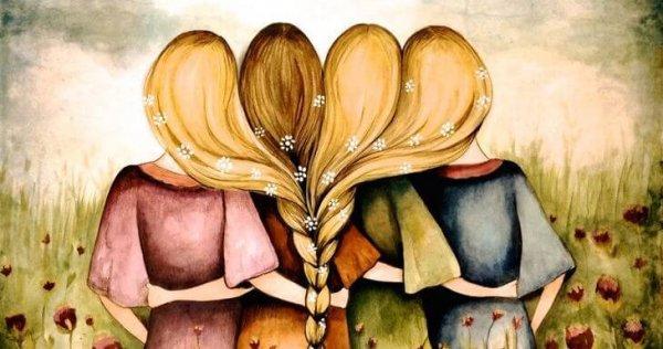 Una familia unida que se abraza