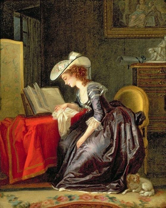 cuerpo de la mujer leyendo