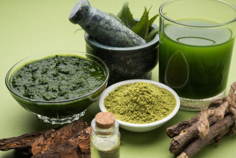 planta de neem para reducción de tumores de próstata