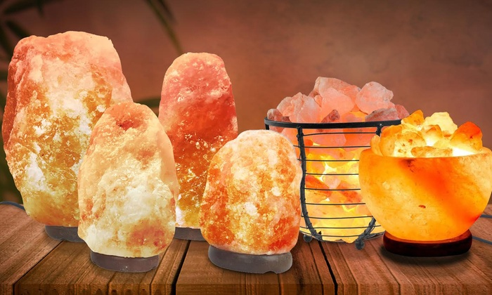 limpiar energías negativas con lámparas de sal del himalaya